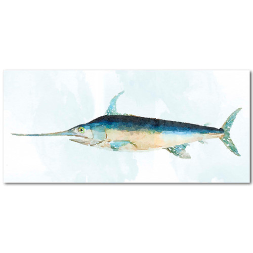 Swordfish Gallery Wrapped Canvas