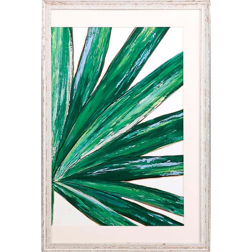 Frond II Tropical Framed Giclee Art