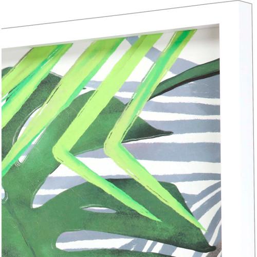 Tropic Palms I Art- Set of Two side