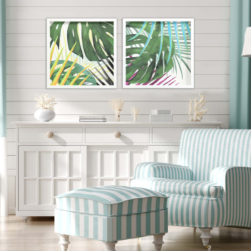 Tropic Palms II- Set of Two lifestyle