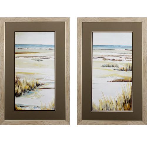 Golden Dunes Panel Prints