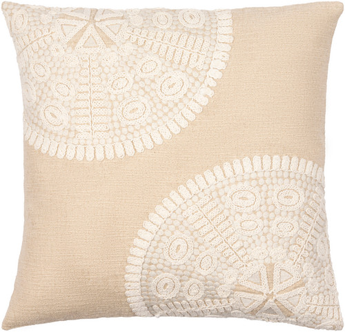 Maricopa Linen Sand Dollar Pillow