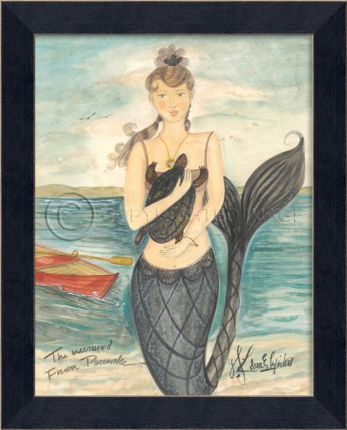 Mermaid from Pocomoke Small Wall Art