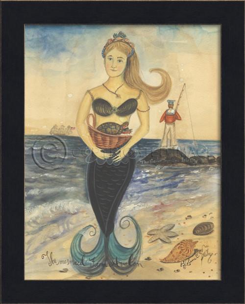Mermaid from Avalon Framed Art