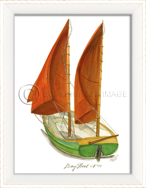 Day Boat No. 3 Cottage Wall Art