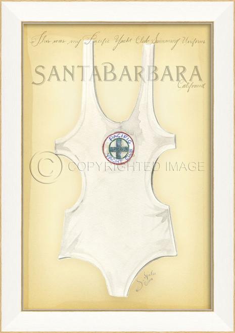 Vintage Santa Barbara Swimsuit Art