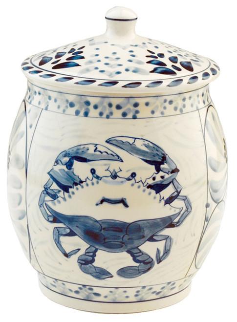 Blue Crab Cookie Jar