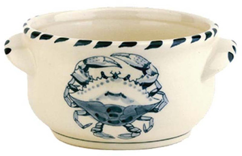 Blue Crab Chowder Bowls - set of 4