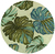 Ivory Florea Tropical Wool Area Rug