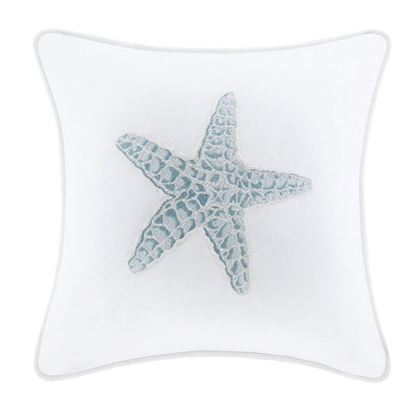 Chesapeake Bay Starfish Decorative Pillow