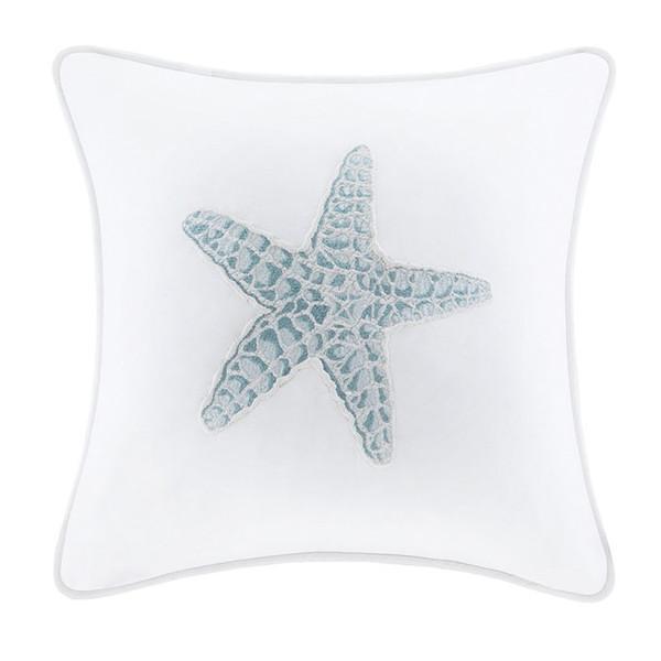 Chesapeake Bay Starfish Decorative Pillow