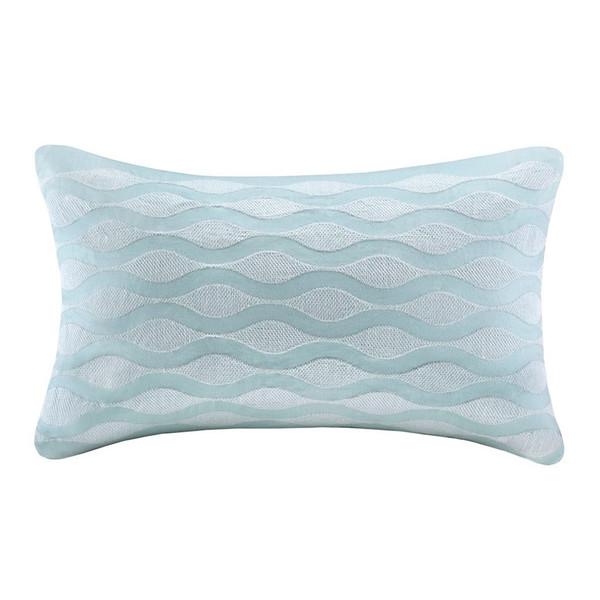 Chesapeake Bay Blue Wave Pillow