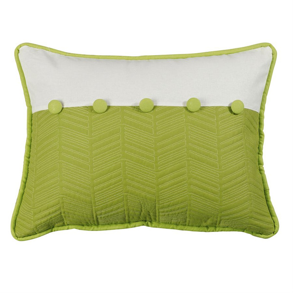 Capri Palm Quilted Pillow