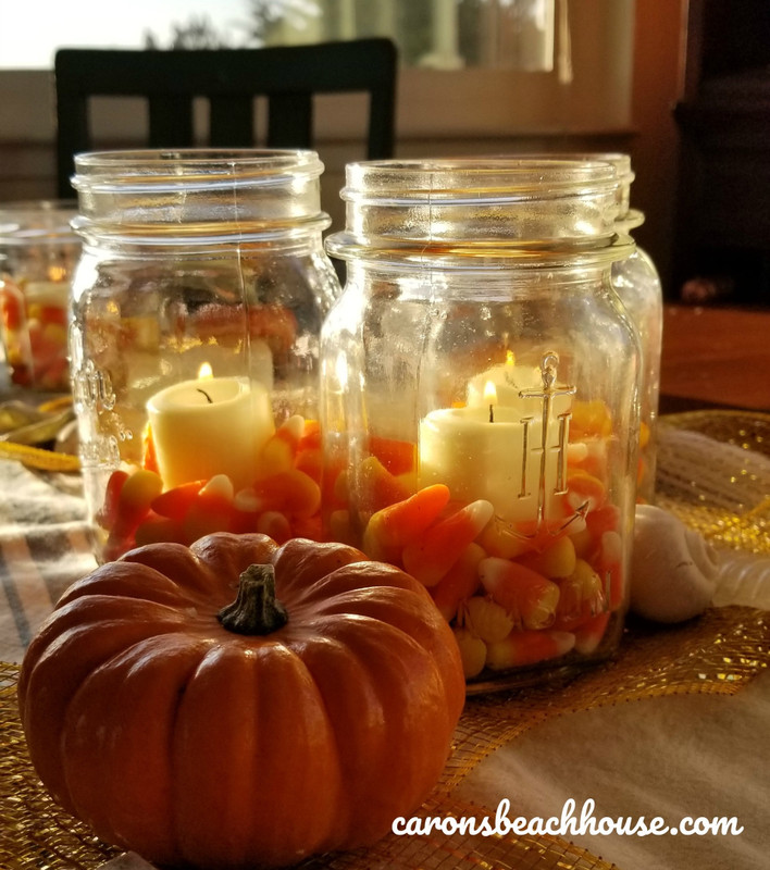 Casual Fall Coastal Tablescape