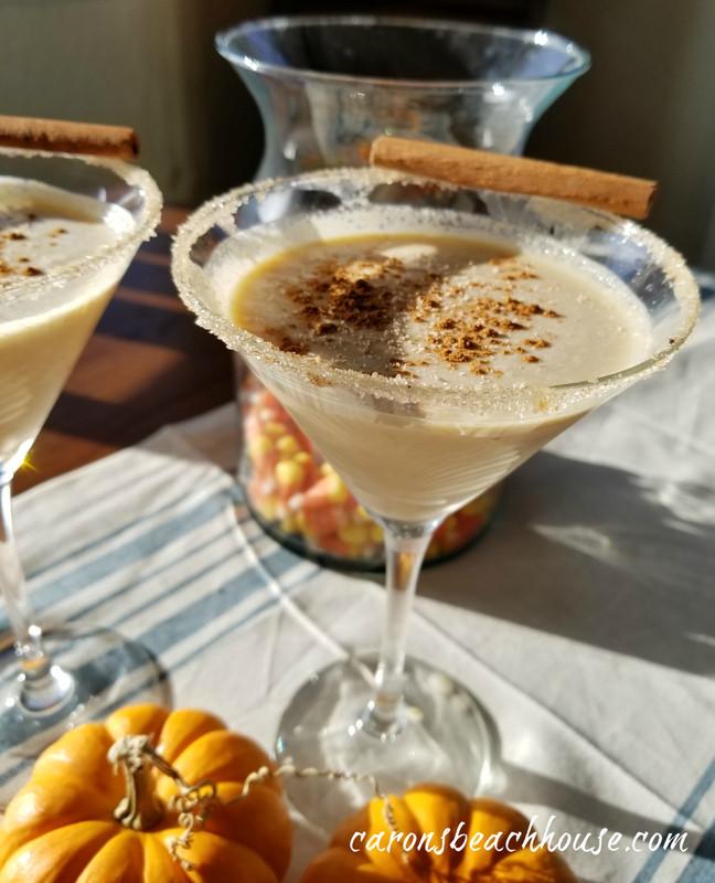 Pumpkin Spice Martinis