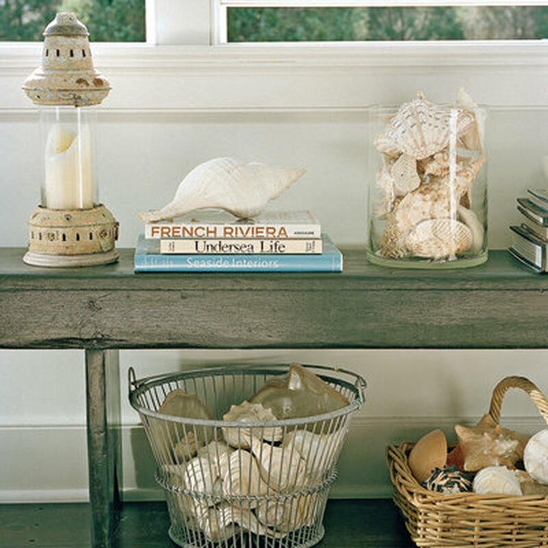 10 seashell room decorating ideas! - caron's beach house