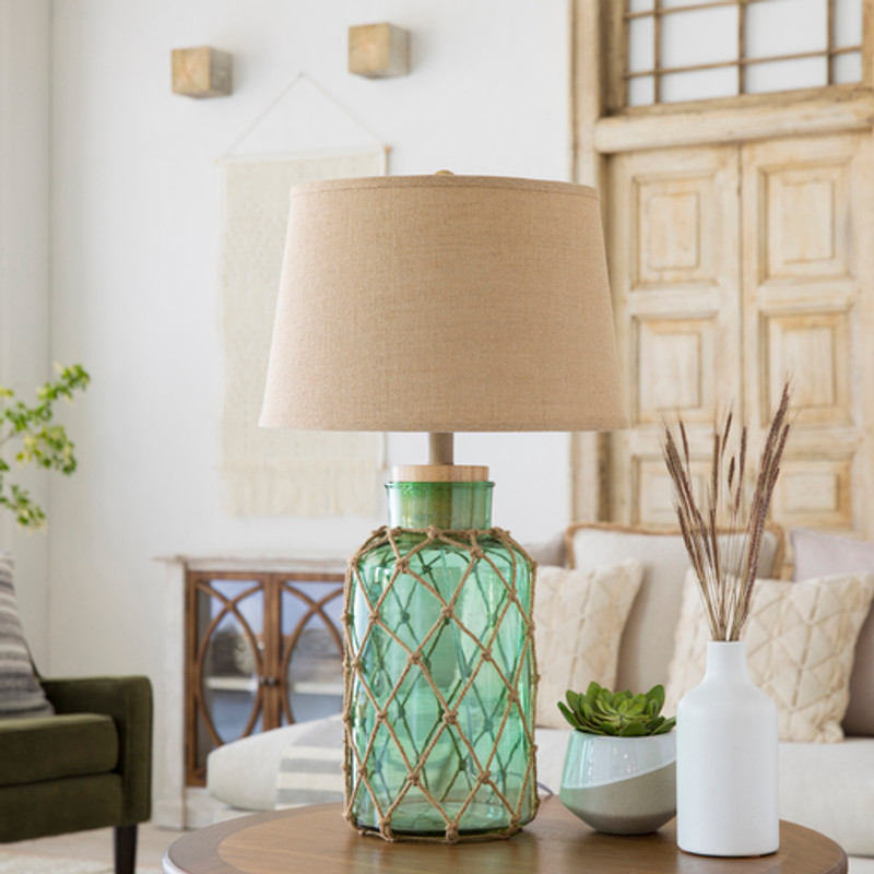 The Perfect Glass Lamps for Beach Treasures