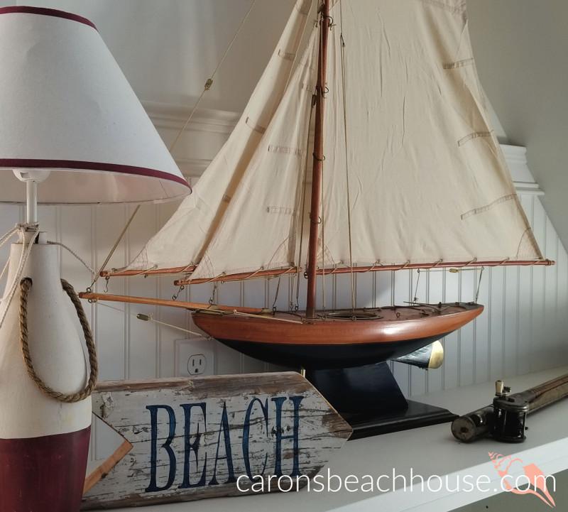 Decorating Tip: Add a Sailboat