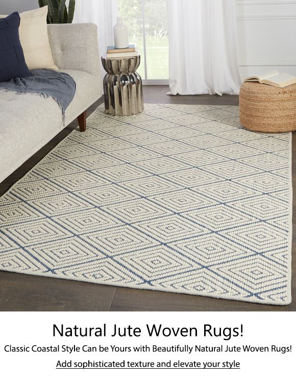Natural Jute Woven Rugs