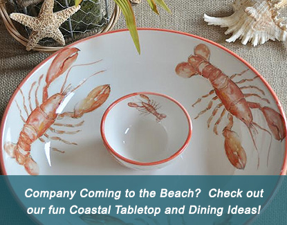 Coastal Tabletop and Dining Ideas