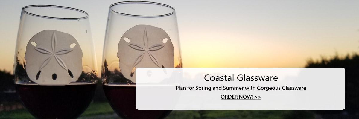Coastal Glassware