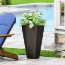 Outdoor Modern Cast Stone Planter