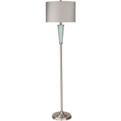 Goswell Brushed Glazed Ceramic Metal Body Floor Lamp