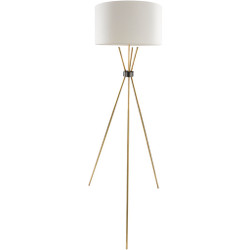 Nathan Antiqued Metal Body Floor Lamp-002