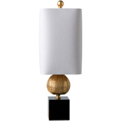 St. Martin Gilded Composition Body Table Lamp