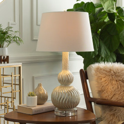 Walsh Pearlized Ceramic Body Table Lamp