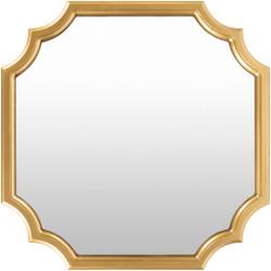 Cecilia Gold-Frame Mirror