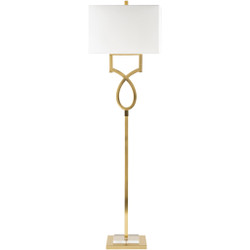 Eicher Brass Plated Floor Portable Light