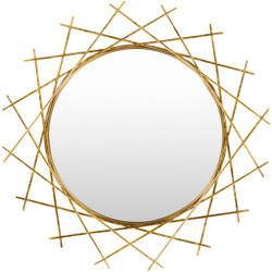 Rosalie Gold Frame 25 X 1 inch Specialty Mirrors