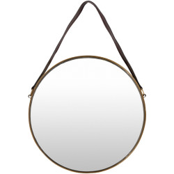Lathan 18 X 1 inch Gold-Framed Mirror
