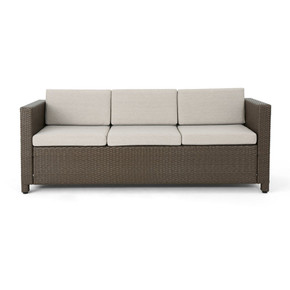 Outdoor 7 Seater Sofa Chat Set with Cushions