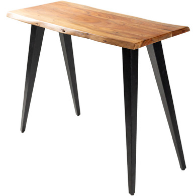 Edge Accent Wood/Metal Console Table