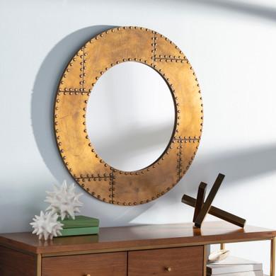 Eunice 31 X 1 inch Round Mirror
