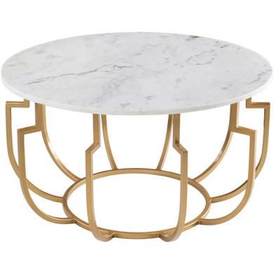 Hendrix Marble Top Coffee Table