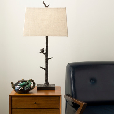 Weber Bronze Hand Finished  Table Lamp