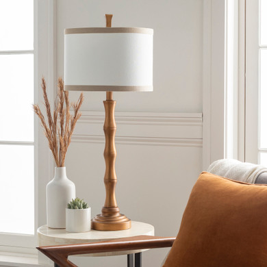 Jutka Gold Painted Table Lamp