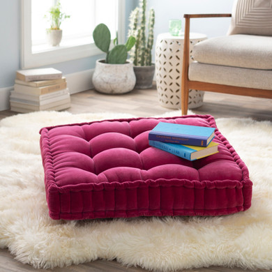 """Bauble 30""""H x 30W Pink Pillow Cover"""