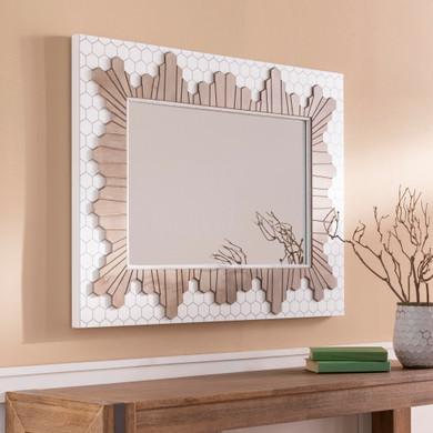 Genaro Manufactured Wood Mirror