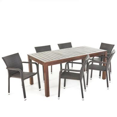Netton Outdoor 7 Piece Dining Set