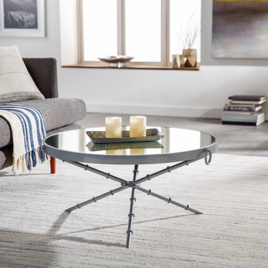 Galatine Silver Coffee Table