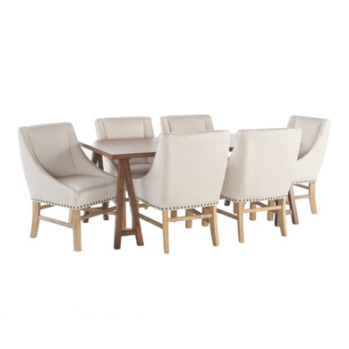 7 Piece Wood Dining Set