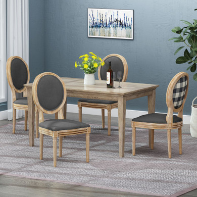 French Country Dining Chairs (Set of 4)
