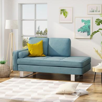 Modern Fabric Chaise Lounge