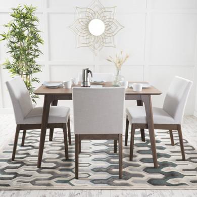 Mid-Century Modern 5 Piece Dining Set