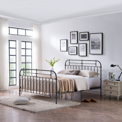 Victorian style Iron Bed
