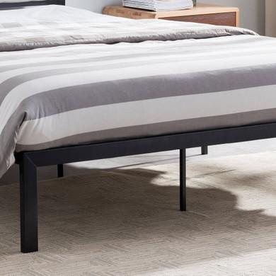 Minimalistic Modern Iron Queen Bed